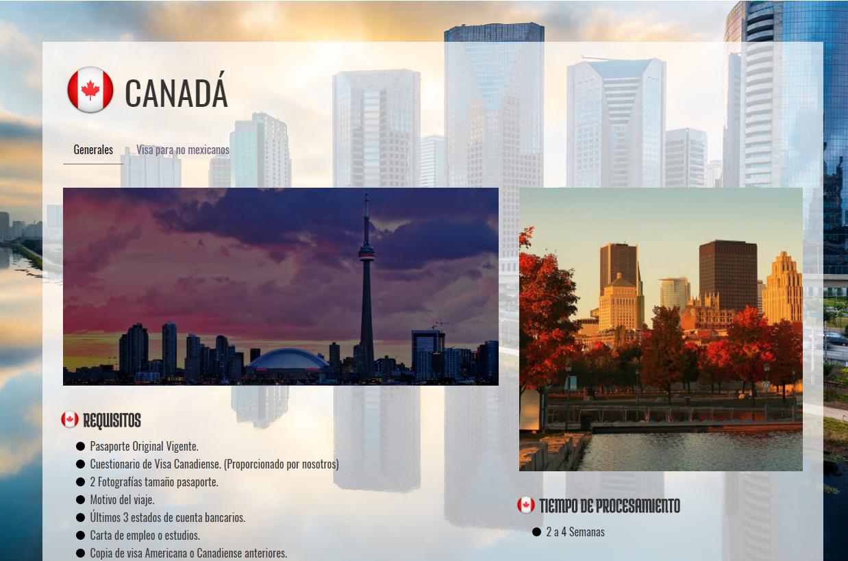 ETA/Visa de turista Canadá. Hacemos simple lo complicado – Visas ...